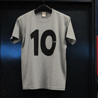 Rew10 No.10 T-shirts  Heavy weight