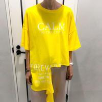 asymmetry tshirt (yellow)