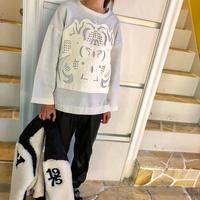 vintage design knit(white)