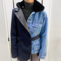 unique design denim jacket