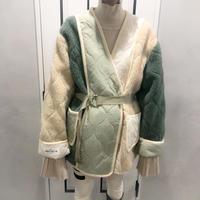 oversize buycolor boa jacket