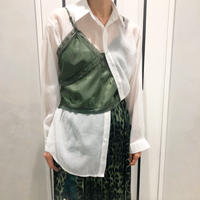 layered style shirt (khaki)