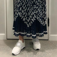 lace × jewel sneaker