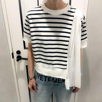 border pleats tshirt