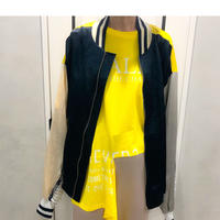 over size design blouson