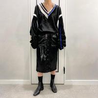cortig tight skirt (black)
