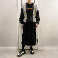 two-piece style onepiece (black)