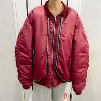 super over size bomber jacket (bodeau)