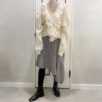 asymmetry long skirt