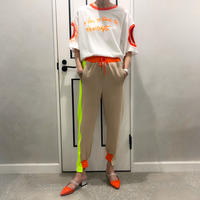 neon color pants (beige)