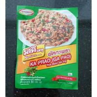 タイ料理★RosDee menu ajinomoto★タイの味の素【ガパオ】【ガパオライスの素】