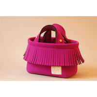 [予約販売]Lozz Sandra Fringe Mini Tote Bag / Rouge