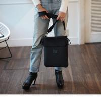 LozzSandra/Fringe Vertical Shoulder Bag【アッシュブラック】