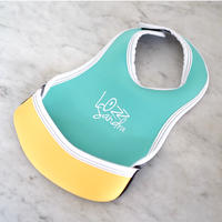 "LozzSandra(ロッズサンドラ)/""BABY BIB ""Mint x Yellow"