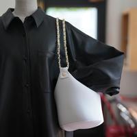 LozzSandra/Chain bag【CHANGE 】STAR (ホワイト×ゴールドスター)