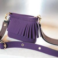 Lozz Sandra カラーオーダー / FringeShoulder bag(ストラップ付属)