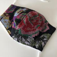 立体マスク チュール刺繍(柄は選択不可 ※送料は別カートに必ずお入れ下さい