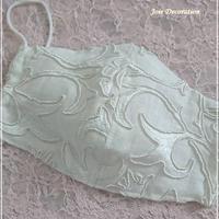 ※竹布ガーゼ使用 ピュアモリス刺繍生地 立体マスク ※送料は別カートにお入れください