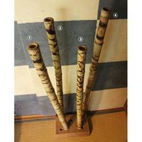バンブーディジュリドゥ・プレーンBag付き= Bamboo Didgeridoo Plain with Bag