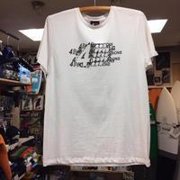 4DIMENSIONS Overlap Tシャツ カラー/ホワイト