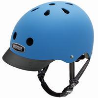 NUTCASE ヘルメットLITTLE NUTTY Atlantic Blue(アトランティックブルー マッド)サイズXS
