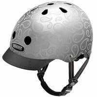 NUTCASE ヘルメットLiquid Silver (リキッドシルバー)
