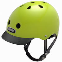 NUTCASE ヘルメットElectric Olive (エレクトリックオリーブ)