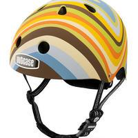 NUTCASE ヘルメットLITTLE NUTTY Mellow Swirl(メロー スワールマッド)