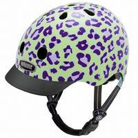 NUTCASE ヘルメットLITTLE NUTTY Grape Leopard(グレープレオパード) サイズXS