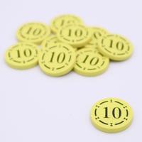 木製りばコイン追加(10点×10枚セット)