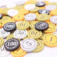 オリジナル木製りばコイン(100枚セット)