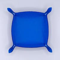 ファブリックトレイ(青)