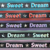 B 25mm  Sweet Dreamグログランリボンセット 5種x2m@10mセット