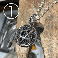 Burning Pentagram Pendant