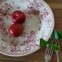 ジアンのスーププレート梅の花