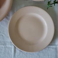 パウダーピンクのデザート皿 #2