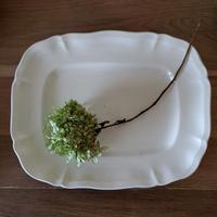 サルグミンヌ 花リム スクエア大皿