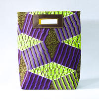 Akello Bag 4way -幾何学ライトグリーン-