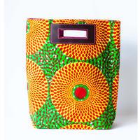 【2/14入荷】Akello Bag 4way-ビッグアイ・オレンジ&グリーン  -