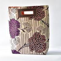 【4/3 入荷】Akello Bag 4way - 紫の花-