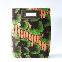 アケロバッグ4WAY - 緑のパンジー -
