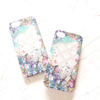 "Ricco.Co iPhone case ""Jewel Flower"""