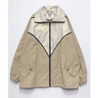 BLOCKED BLOUSON(BEIGE)