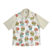 SOUTIEN COLLAR SWITCH SHIRT   (OFF WHITE)