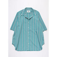 OPEN COLOR BUTTON DOWN SHIRT (GREEN)