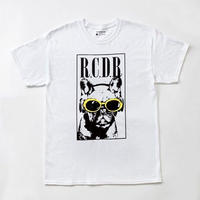 FRENCH BULL×KURT TEE「WHITE×YELLOW」