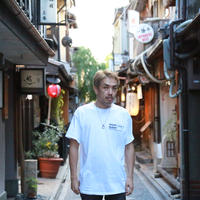 ESSENTIAL MUSIC PRESENTS ''NIGHT FLIGHT'' TEE  by RCDR / WHITE