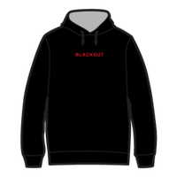 BLACKOUT LOGO HOODIE / Black