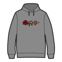 ROSE AND SNAKE HOODIE / Grey
