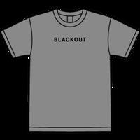 BLACKOUT LOGO S/S TEE / Grey